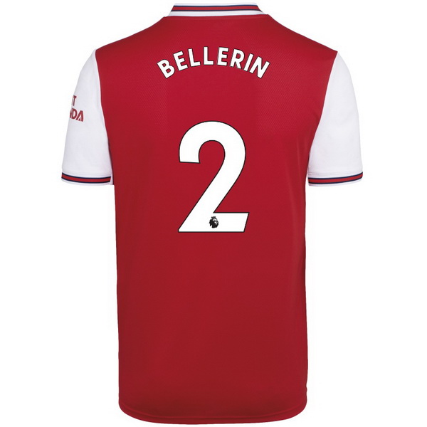 Maillot Foot Arsenal NO.2 Bellerin 1ª 2019-2020 Rouge